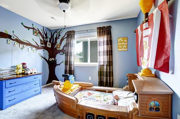 Дизайн комнаты для новорожденных фото