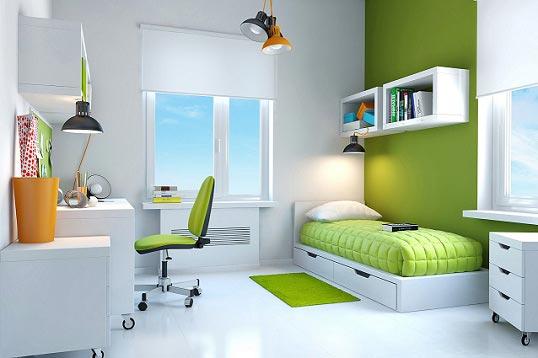 Дополнительные источники света в рабочей и спальной зоне