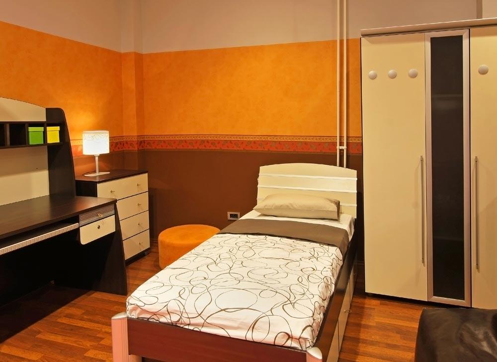 Лаконичный дизайн маленькой комнаты