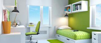 Освещение в детской комнате с люстрой и дополнительными светильниками