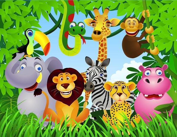На тему джунгли