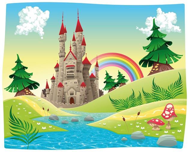 Со сказочным замком