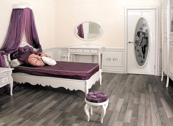 Балдахин на детской кроватью