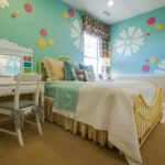 красивый дизайн детской комнаты для девочки