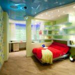 Дизайн детской комнаты для мальчика в стиле диско