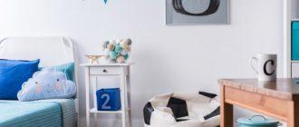 Футбольные аксессуары для детской комнаты