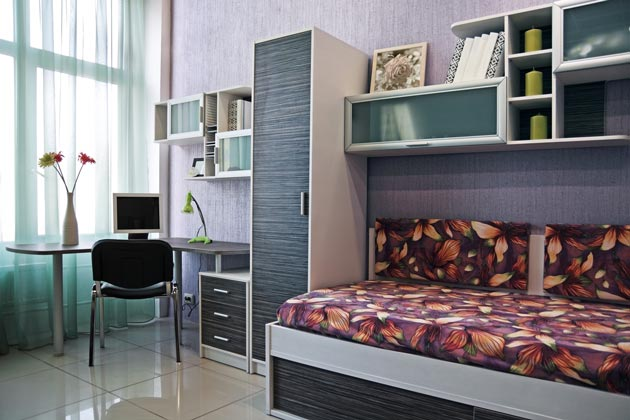 Минимум мебели в детской