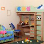Мебель для маленькой детской 7-8 кв м