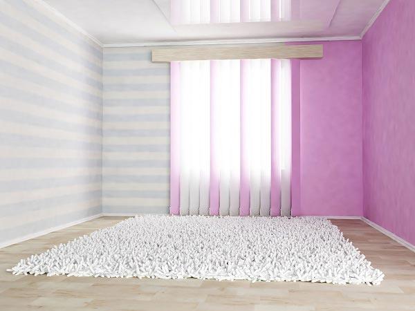 Цветовое зонирование комнаты