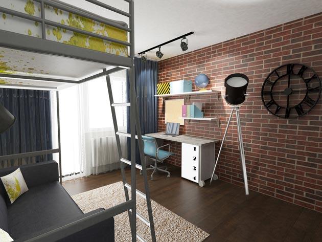 Стиллизованное спальное место