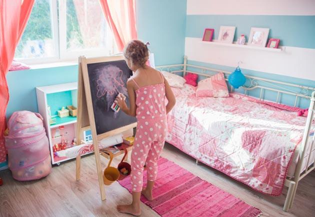 Интерьер для девочки с творческой натурой
