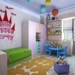 Дизайн комнаты в сказочном стиле