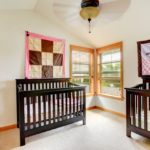 Дизайн детской для новорожденных двойняшек