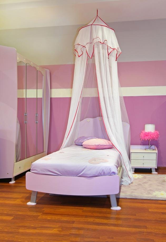 Подвесной с розовой каймой
