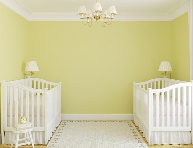 Интерьер для новорожденных двойняшек