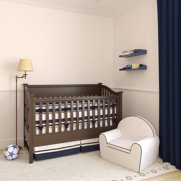 Прикроватный ночник у кроватки новорожденного