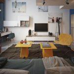 Комната для парня 16 лет в стиле лофт