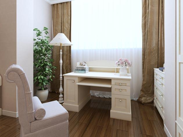Стилизованный стол-бюро