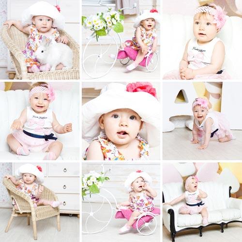 Обновление интерьера детской при помощи фотоколлажа