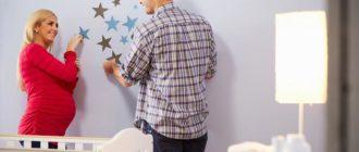 Обновление интерьера детской наклейками