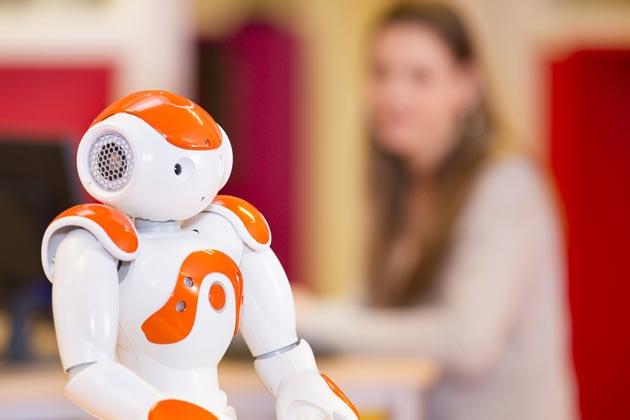 Детский робот на управлении