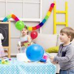 День рождения мальчика 4 лет