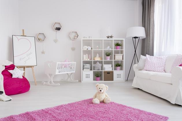 однотонный светло серый для комнаты новорожденного
