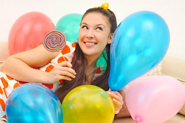 Яркие воздушные шары
