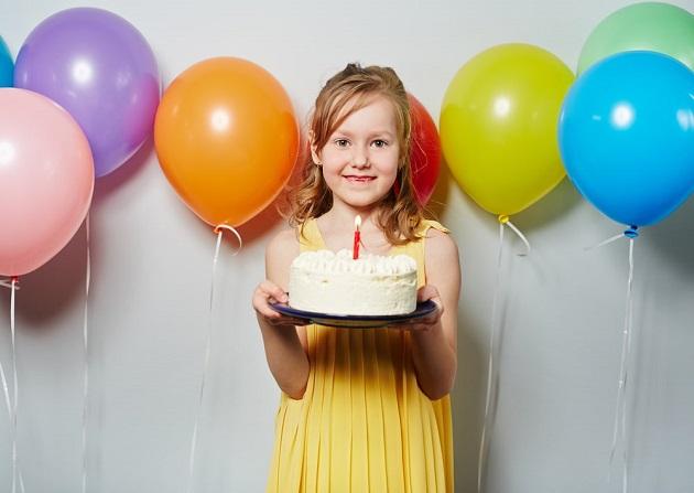 Празднование дня рождения девочки 8 лет