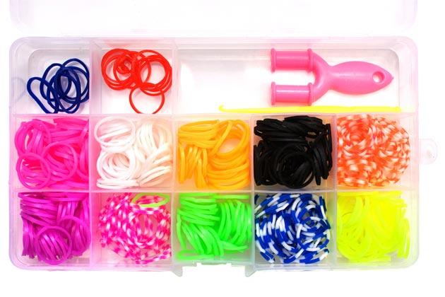 Набор для девочки для плетения из резиночек