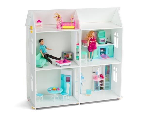 Кукольный домик в подарок для девочки 4 лет