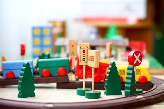 Игровой набор для мальчика с дорогой и поездом