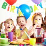 Празднование дня рождения 9-летнего мальчика