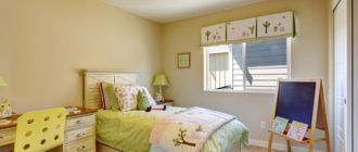 Детская комната с мольбертом